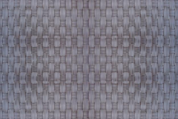 Bamboe rieten textuur en achtergrond wordt gebruikt als materiaal voor het opslaan van droog voedsel.