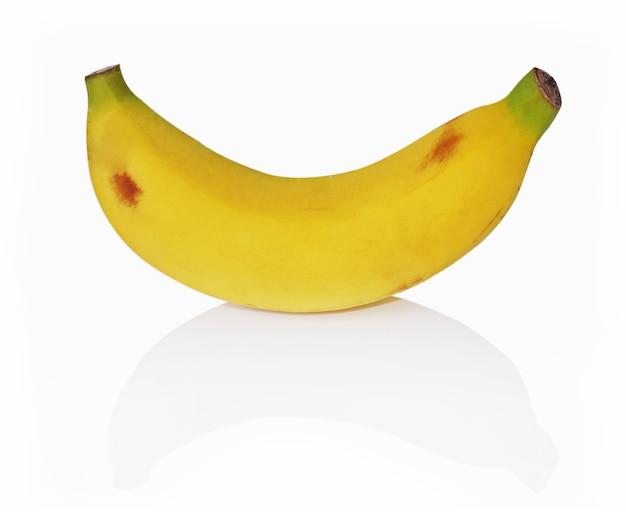 Banaan geïsoleerd op witte achtergrond