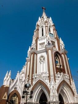 Bangalore india gevel van st mary basilica in bangalore