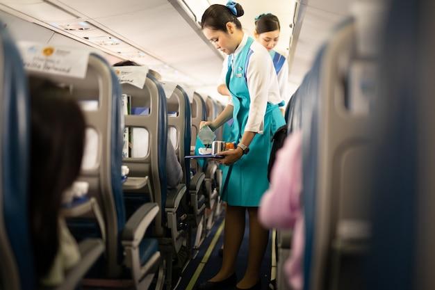 Bangkok airways stewardess