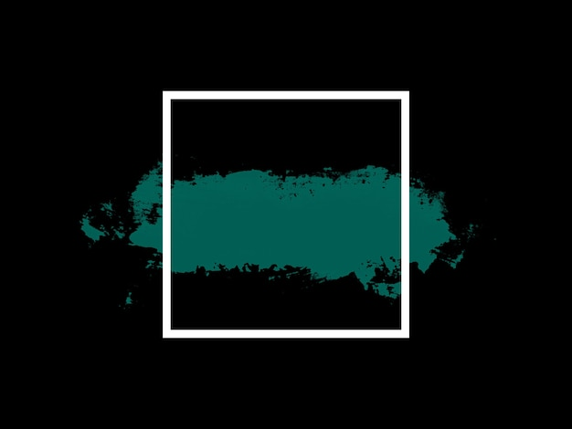 Banier. groen tintje met wit vierkant. hoge kwaliteit foto