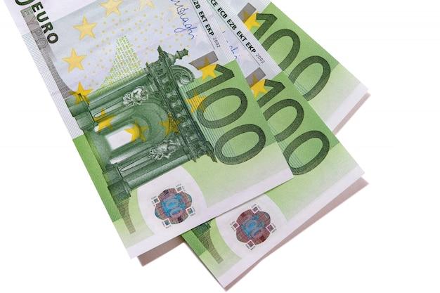 Bankbiljetten van 100 euro