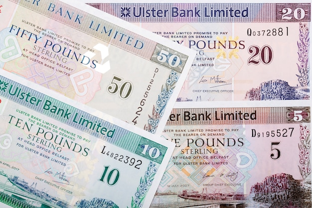 Bankbiljetten van noord-ierland