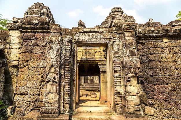Banteay kdei tempel in angkor wat in siem reap, cambodja