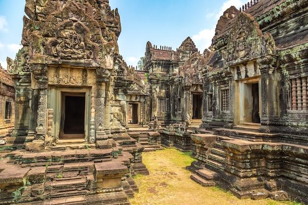 Banteay samre-tempel in angkor wat in siem reap, cambodja