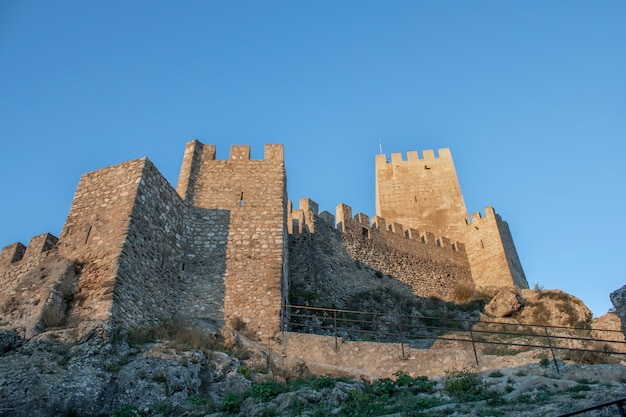 Banyeres van het middeleeuwse kasteel van mariola