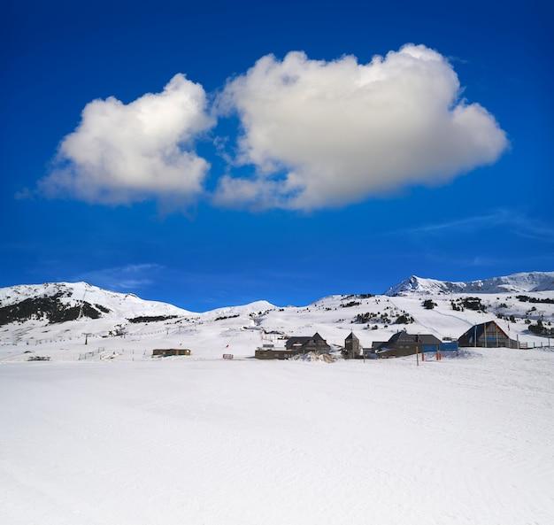 Baqueira beret uitzicht