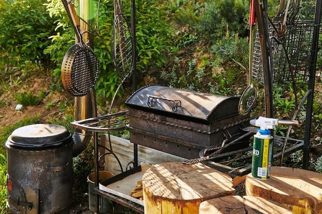 Barbecue als buitenapparaat