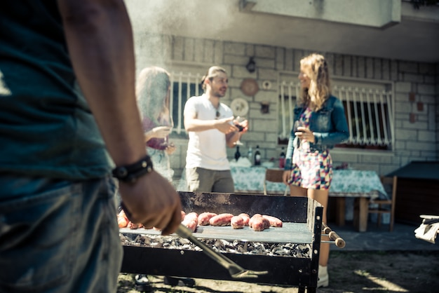 Barbecue feestje