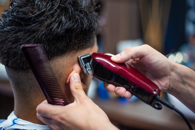 Barbershop kapper en kapsalon