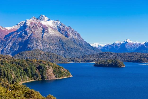 Bariloche landschap in argentinië