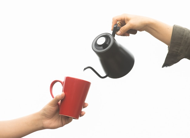 Barista koffiezetten, methode overgieten, koffie druppelen