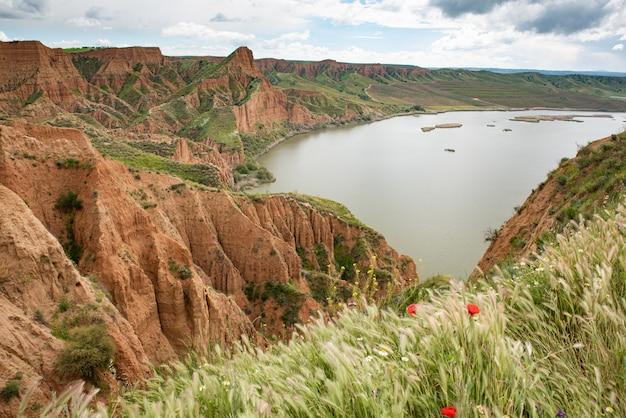 Barrancas de burujon, castrejon-stuwmeer, guadamur