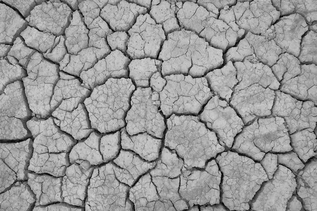 Barstgrond op droog seizoen, globaal wormeffect.
