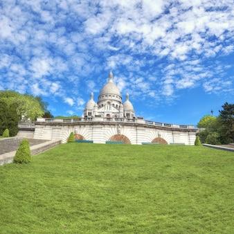 Basiliek van sacre-coeur in montmartre, parijs