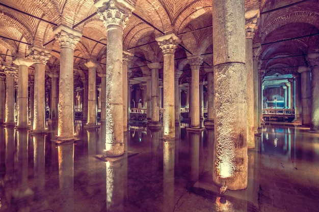 Basiliekreservoir in istanboel