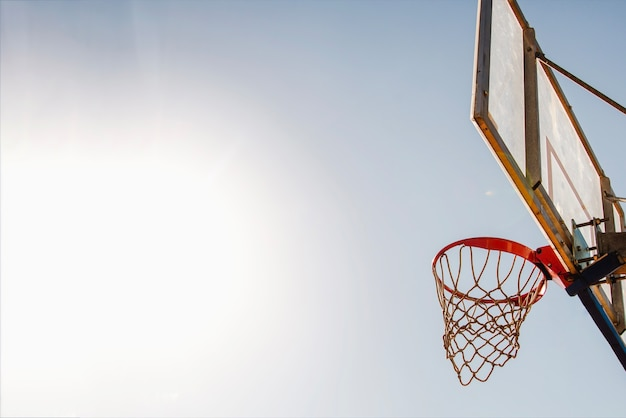 Basketbal backboard