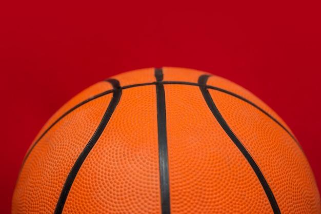 Basketbal bal close-up