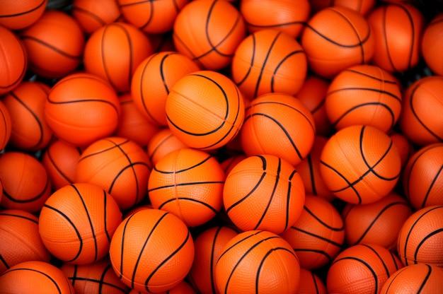 Basketbal ballen patroon achtergrond
