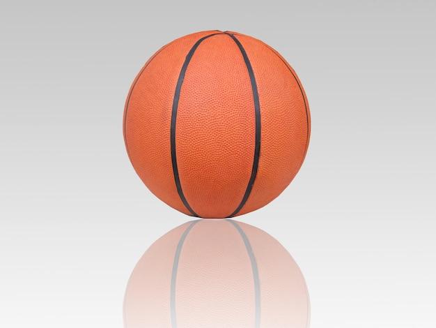 Basketbal en schaduw
