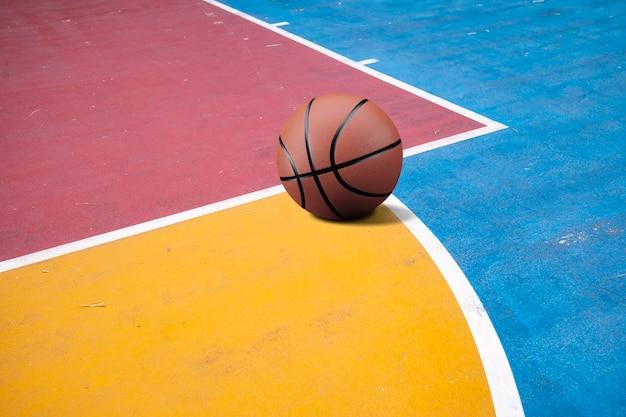 Basketbal op de baan