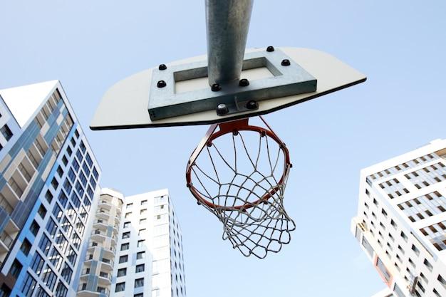 Basketbalring lage hoek