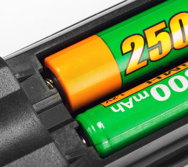 Batterijen in afstandsbediening