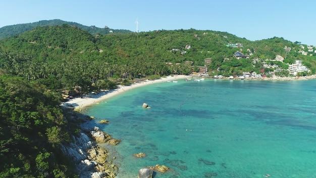 Bay resort plaats helder water thailand