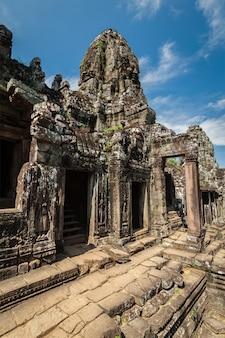 Bayon tempel, angkor thom, cambodja