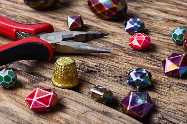 Beaded ketting van kleurrijke mode kralen
