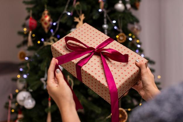 Beautiul kerst thuis concept
