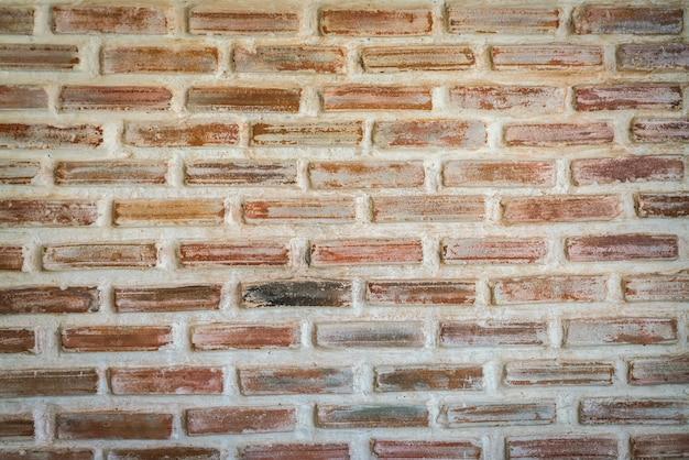 Bedorven bakstenen muur