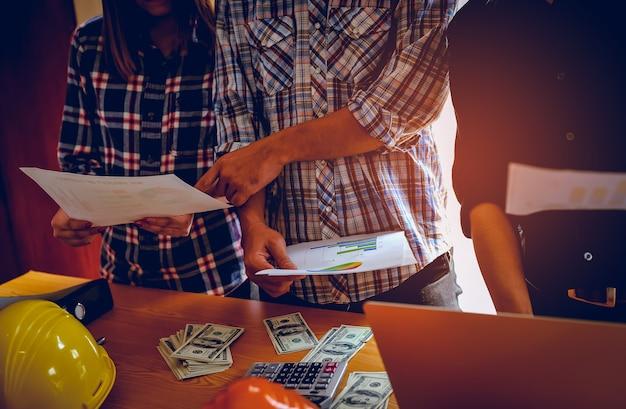 Bedrijfs- en evenementplanning teamwork