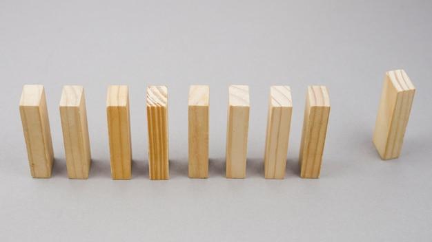 Bedrijfsconcept met houtsneden