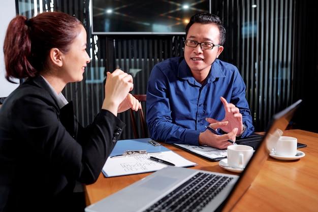 Bedrijfsleiders ontkennen nieuw project