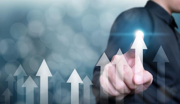 Bedrijfsontwikkeling tot succes en groei