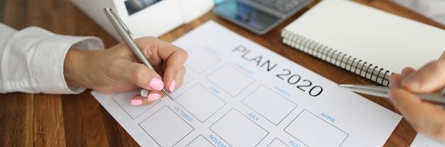 Bedrijfsplanning voor 2020