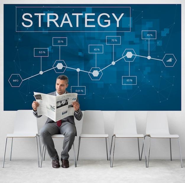 Bedrijfsstrategie corporation enterprise startup concept