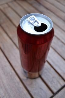 Beer can, hout