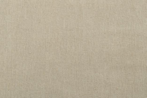 Begie canvas textuur Premium Foto
