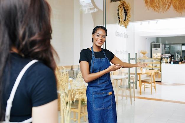 Beginnende bakkerij bedrijfsconcept