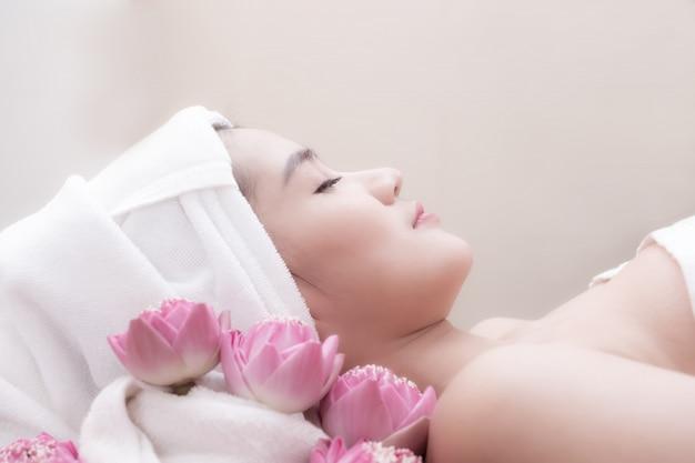 Behandeling beauty spa