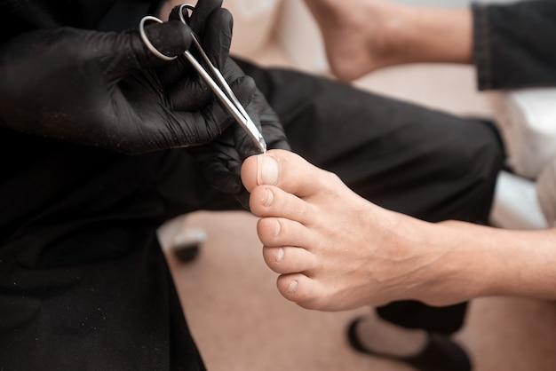 Behandeling van voetproblemen,