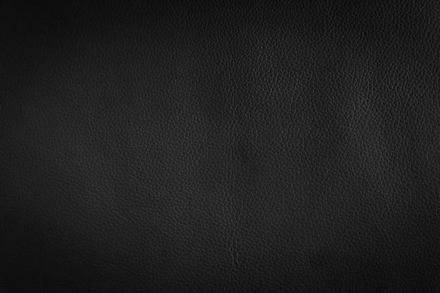 Behang donker, zwart leer en textuurachtergrond