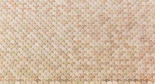 Beige abstracte achtergrond met kleine tegels