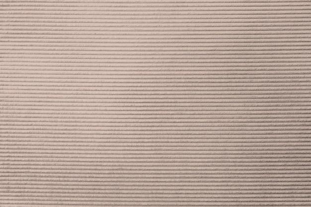 Beige corduroy stof getextureerde achtergrond