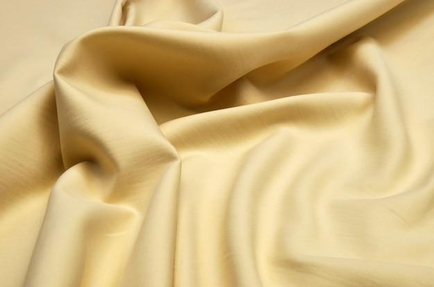 Beige katoenen stof
