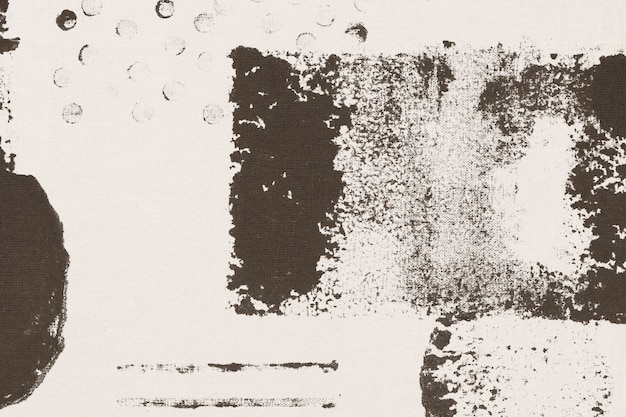 Beige memphis patroon achtergrondblokafdrukken