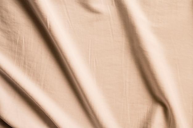 Beige stoffenclose-upbehang