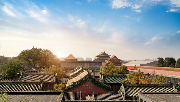 Beijing, china verboden stad